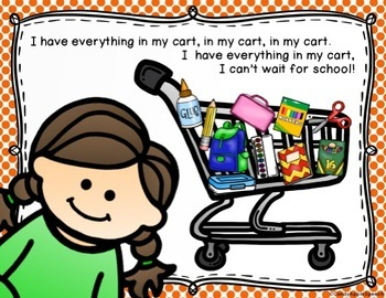 """I Need School Supplies in My Cart"" Interactive Story"
