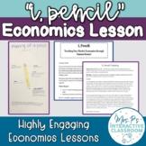 """""""I, Pencil"""" Essay Economics Lesson"""