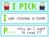 """""""I Pick"""" Daily 5 Reading Sign"""