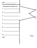 """I Said No!"" Lesson Plan with Flag Handouts"