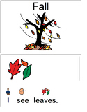 """I See Fall"" Interactive Book"