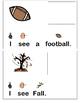 """I See Fall"" Interactive Book"