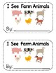 """I See Farm Animals"" Sight Word Book & Activities"