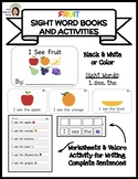 """I See Fruit"" Sight Word Book & Activities"