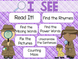 """I See"" Poem of the Week Flipchart for ActivInspire"