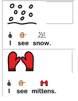 """""""I See Winter"""" Interactive Book"""
