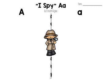 """I Spy"" Alphabet Activity Centre"