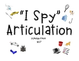 """I Spy"" Articulation"