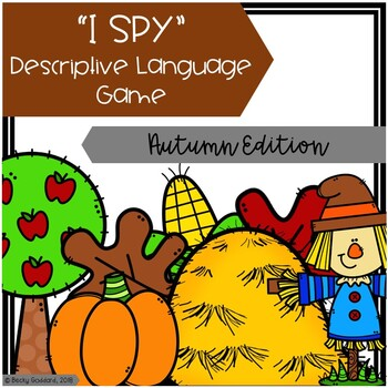 """I Spy"" Descriptive Language Game - Autumn Edition"
