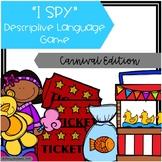"""""""I Spy"""" Descriptive Language Game - Carnival Edition"""