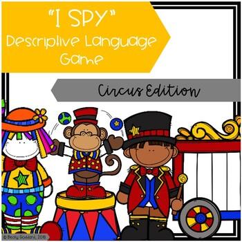 """I Spy"" Descriptive Language Game - Circus Edition"