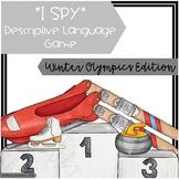 """I Spy"" Descriptive Language Game - Winter Olympics Edition"