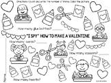"""I Spy"" How to Make a Valentine Activity Page"