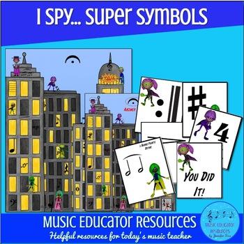(I Spy...) Super Symbols