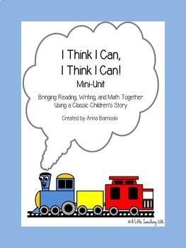 """""""I Think I Can, I Think I Can"""" Mini-Unit"""