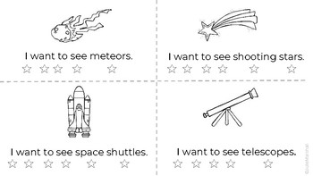 """""""I Want To See Space"""" - A Guided Reader with focus on """"to"""" and """"see"""""""