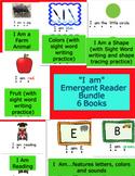 """""""I am"""" Emergent Reader Bundle"""