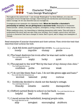 """""""I am George Washington"""" by Brad Meltzer - Book Study for 3rd and 4th"""