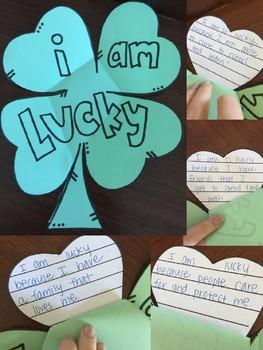 'I am Lucky' St. Patrick's Day Craftivity & Banner
