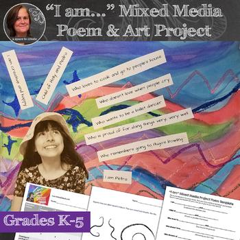 Mixed Media Self Portraits