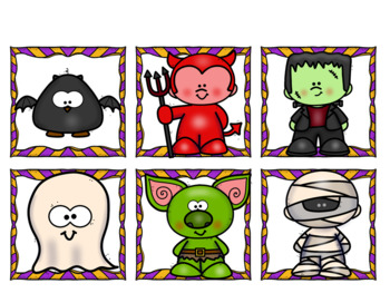 """I am a little...""  (Halloween pocket chart reader and reader booklet)"