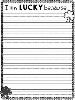 March Writing Freebie!