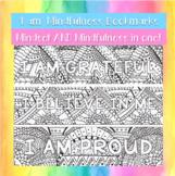 'I am' mindfulness bookmarks (x15)