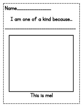 """""""I am one of a kind because..."""""""