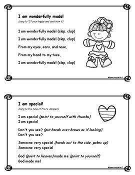 God Made Me Special! Bible Time Activities for Psalm 139:14