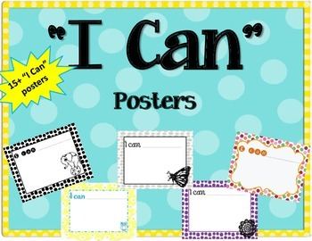 """I can"" Posters / Inspiration / Student"