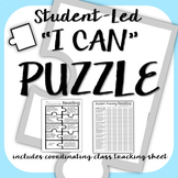 """""""I can"""" Puzzle and Teacher Tracking Sheet"""