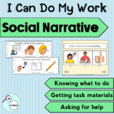 """""""I can do my work"""" social story"""