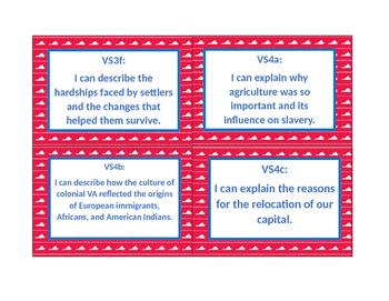 """I can"" statements-Virginia Studies"