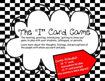 "#octoberfestsale ""I"" card Game"