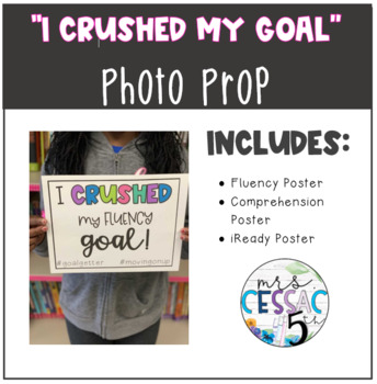 """""""I crushed my goal"""" Posters"""