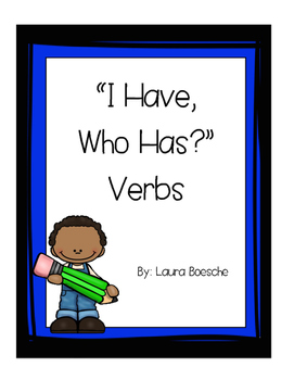 """I have, Who Has?"" Verbs"