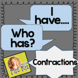 """""""I have, Who has?"""" Contractions Activity!"""
