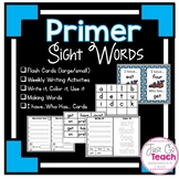 Sight Words Bundle: Primer List