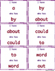 """I have who has"" Sight Word Game: Set of 3 games!"