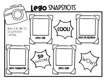 Write All About It: Lego Edition