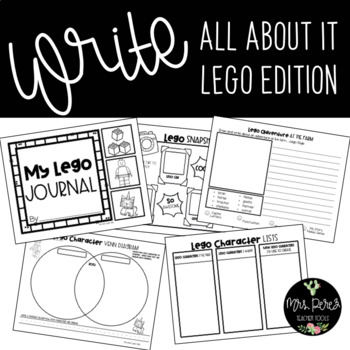 Write All About It: Lego Edition Journal