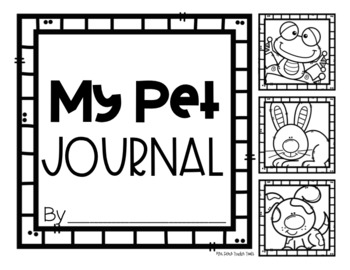 """I'm An Expert"" Writing Pages: Pet Edition"