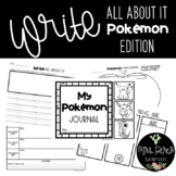 """""""I'm An Expert"""" Writing Pages: Pokemon Edition"""