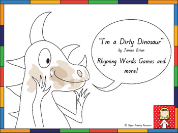 """""""I'm a Dirty Dinosaur"""" rhyming word games and more!"""