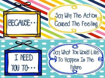 """I"" message strips (FREEBIE)"
