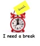 """""""I need a break"""" Cards"""