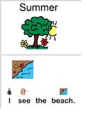 """I see Summer"" interactive book"