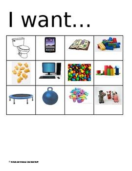 """""""I want"""" chart"""
