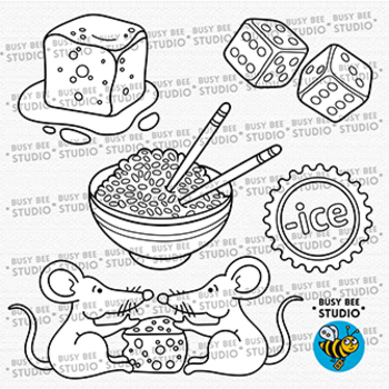 """-ICE"" Word Family Clip Art | Magic E Clipart"