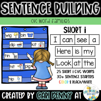 -IP Word Family Sentence Building